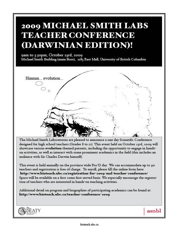 MSLteacherconference2009
