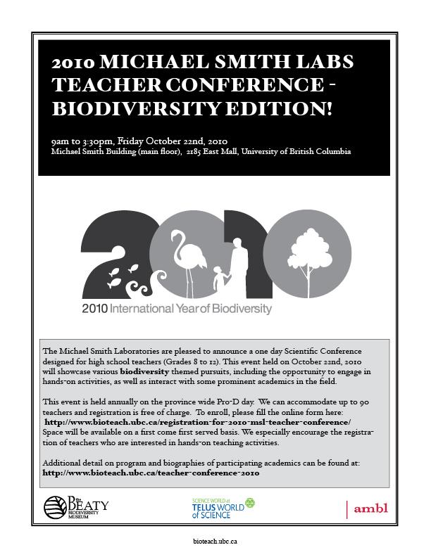 MSLteacherconference2010