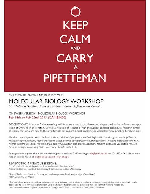 Molecular Biology college courses reviews